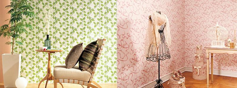 色、柄豊富な壁紙クロス