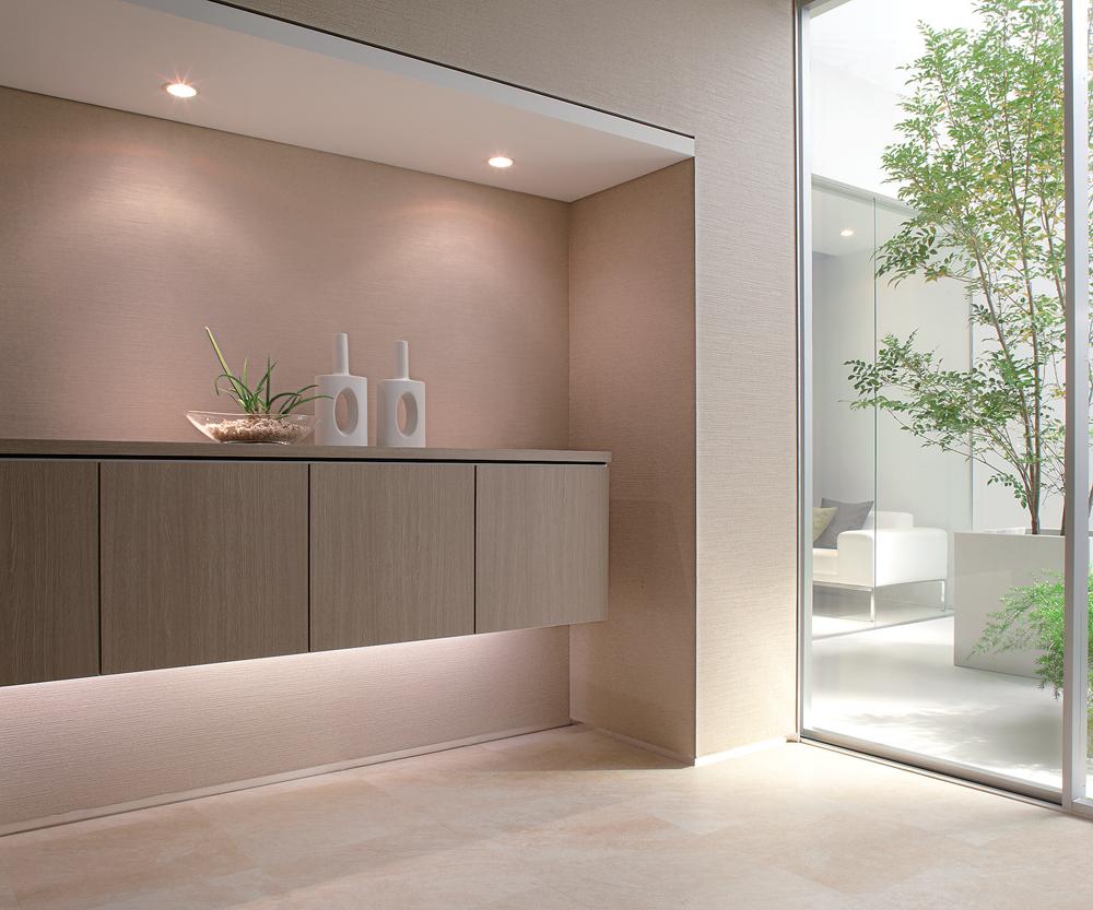 壁の色と柄で部屋が変わる 壁紙 クロスのリフォーム 鳥取 鳥取市の内装リフォーム インテリアフクタ