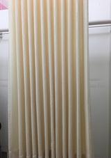 カーテンが美しくなる形態安定加工