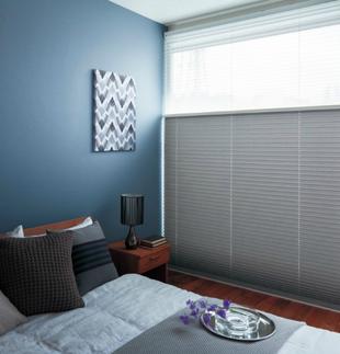 UVカット・採光・遮像性能プリーツスクリーン