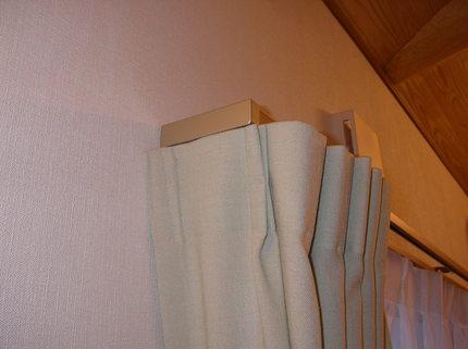 カーテンのリターン縫製で『光・熱・視線』をカット