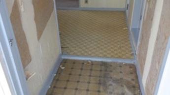 クロスと床の貼替