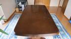 テーブルの天板リフォーム~デコラ貼り