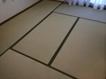 畳取替え~和紙畳にしました