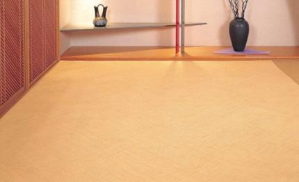 【特別価格30%OFF】籐あじろカーペット 約200×200cm
